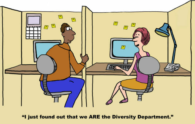 Diversity first: why 'quota' is a dirty word
