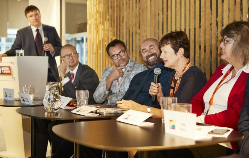 Executive think tank debate the business case for diversity and inclusion